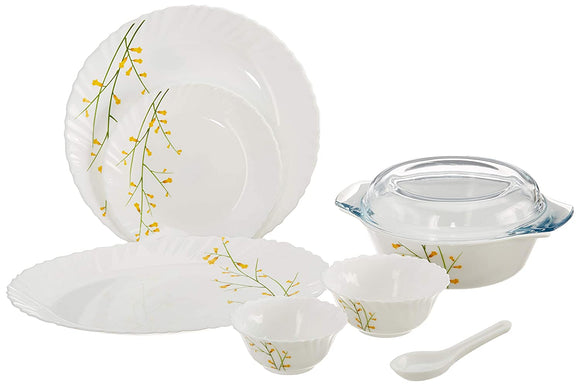 Laopala Citron Weave Dinner set, 35-pieces