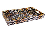 IncredibleThings Waves Designer Tray ( 1 Pc )
