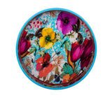 IncredibleThings Floral-Printed Round Tray ( 1 Pc )