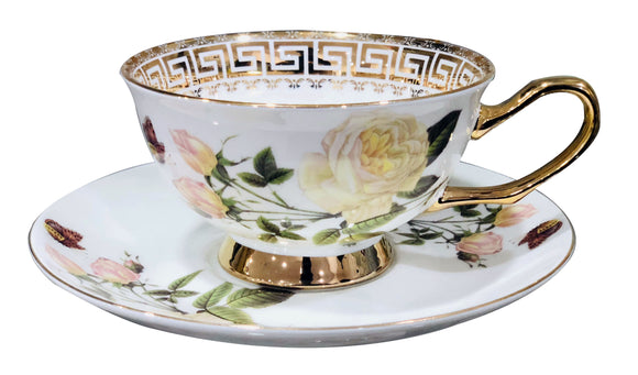 Hi-Luxe Premium Cup Saucers , Set of 6