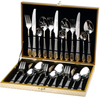 Bergner Pretorian 24 pc Cuttlery Set , Gold and Matt