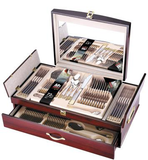 Bergner Select 72 pc Cuttlery Set , Gold and Matt