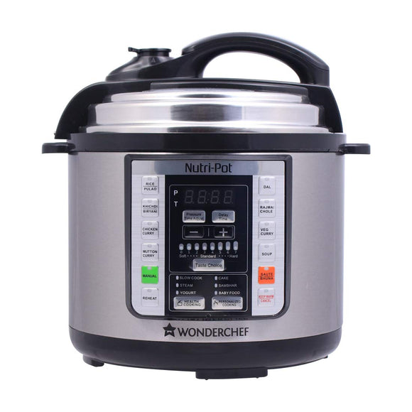Wonderchef Nutri-Pot 3L (7 Kitchen Appliances in 1)