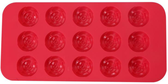 Renberg Flower Shape Chocolate Mould , 21 cm x 10.5 cm x 1.6 cm