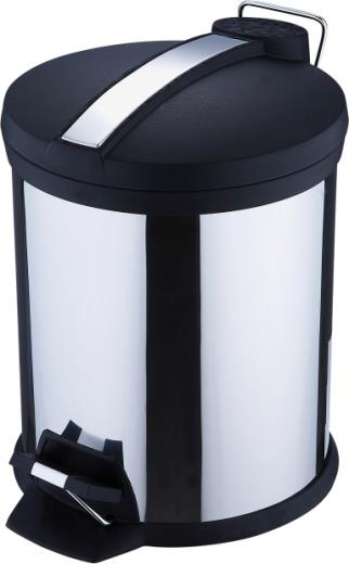 Bergner Dustbin with Plastic Cover ( 7 L )