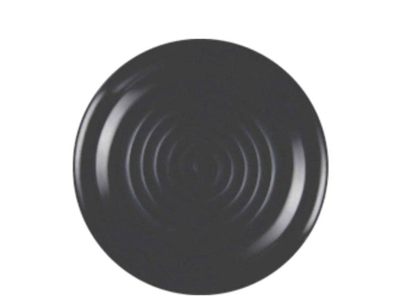 Dinewell Matt Dinner Plate  , Black