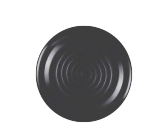 Dinewell Matt Medium  Plate, Black