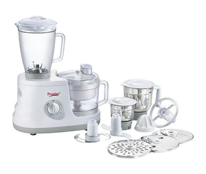 Prestige All Rounder 600 Watts Food Processor (White)
