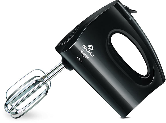 Bajaj HM 01 250-Watt Hand Beater (Black)