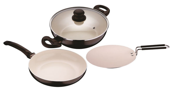 BERGENER Bellini 4 Pc's Cookware Set BG-7062