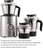 Cello Beta 1000 Watt Steel Mixer Grinder 3 Jar