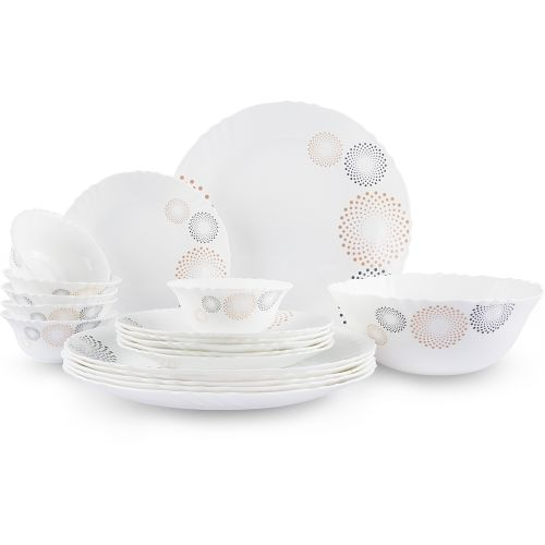 Cello 19 Pc Dinner Set Bubble Drop