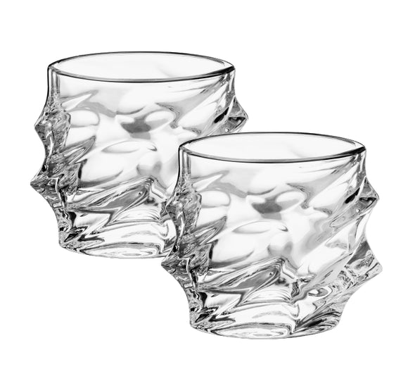 TREO ORBIT GLASS SET 370 ML 2 PCS