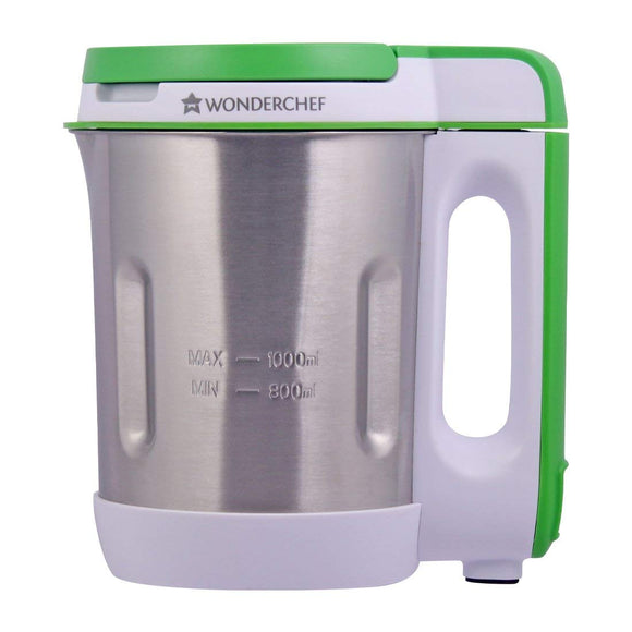 Wonderchef 800-Watt 1 Liter Soup Maker (Green)