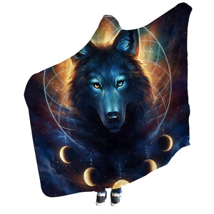 Dream Catcher Hooded Blanket by JoJoesArt