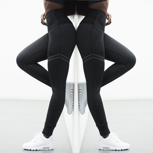 High Waist Compression Leggings-Divine Vibes