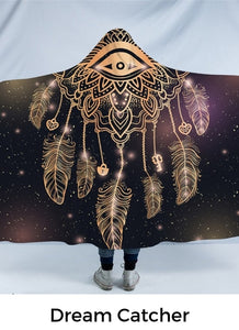 Dream Catcher Hooded Blanket-Divine Vibes