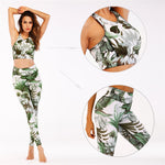 Tropical Bra & Leggings Set