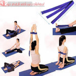 High Density Yoga Block + D-Ring Strap Set