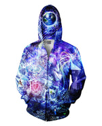 Transcension Zip-Up Hoodie - Divine Vibes