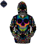 Chaos Zip Up Hoodie By Brizbazaar