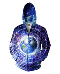 Special Edition Transcension Double Sided Hoodie - Divine Vibes