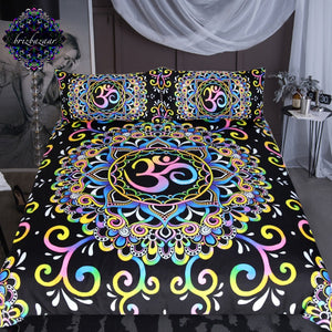 DoodleOhm by Brizbazaar 3-Piece Bedding Set