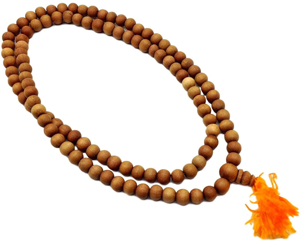 Genuine Sandalwood Buddhist Meditation Prayer Beads