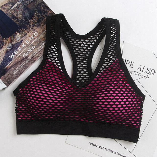 Hollow Out Sports Bra