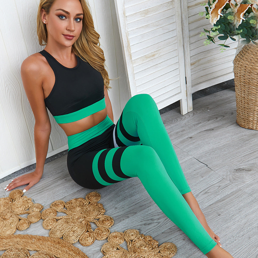 Fit Vibes Bra & Leggings Set-Divine Vibes