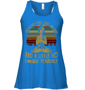 Peace, Love & Light Flowy Tank