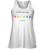 Positive Energy Flowy Tank-Divine Vibes