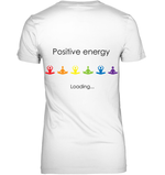Positive Energy V-neck Tee-Divine Vibes