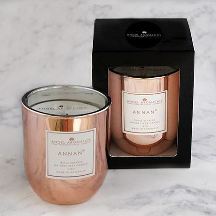Small Candle - Rose Gold Annan - 130g