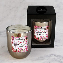 Small Candle - Sweet Pea and Violet - 130g