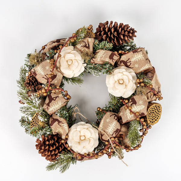 Dried Christmas Wreaths made to order