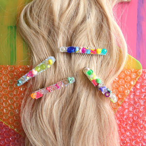 "Eye Spy 3"" Hair Clip Duo"