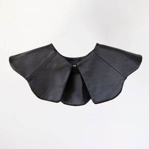 The Leather Petal Collar