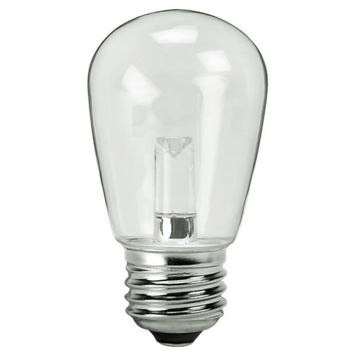 Halco 80522 1.4 Watt LED S14 2700K 120V 82 CRI Medium (E26) Base Dimmable Clear Bulb (S14CL1C/827/LED)