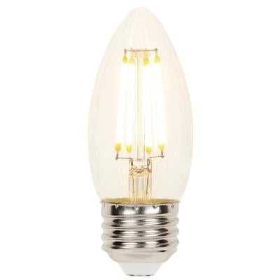 Westinghouse 4.5 Watt (60 Watt Equivalent) B11 Dimmable Filament Light Bulb 2700K Clear E26 Medium Base 120 Volt Box (4316900)