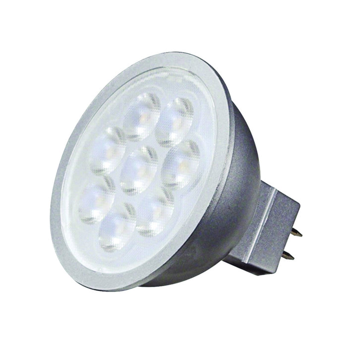 SATCO/NUVO 6.5MR16/LED/25'/30K/12V 6.5W LED MR16 LED 3000K 25 Degree Beam Spread Gu5.3 Base 12V AC/DC (S9491)