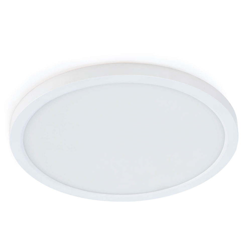 Feit Electric 5 Inch Round Flat Panel Downlight With 3000K/4000K/5000K Selectable Color Temperature - 120V Fixture (74202/CA)