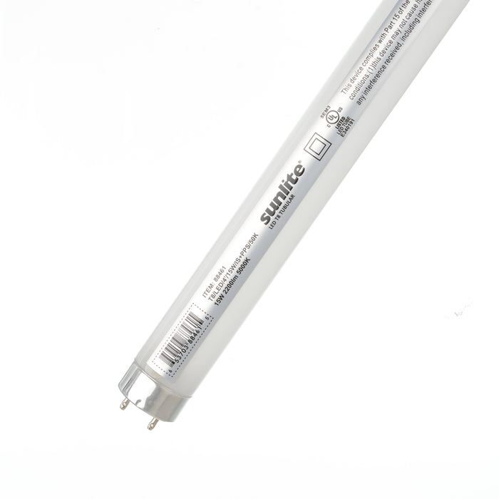 Sunlite T8/LED/IS/4 Foot/15W/50K/PPS Plug And Play Tube T8 Plug and Play/Economy Type (88461-SU)