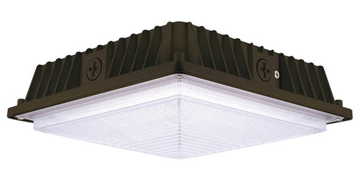 Cree C-Lite LED Square Canopy Light 4900Lm 5000K 120V-277V Dark Bronze (C-CP-B-SQ-4L-50K-DB)