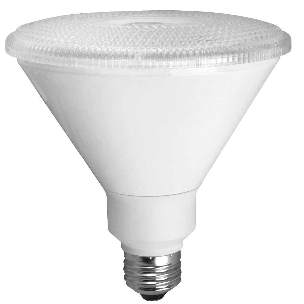 TCP 14W 4100K Medium E26 Base Dimmable 25 Degree PAR38 LED Bulb (LED14P38D41KNFL)