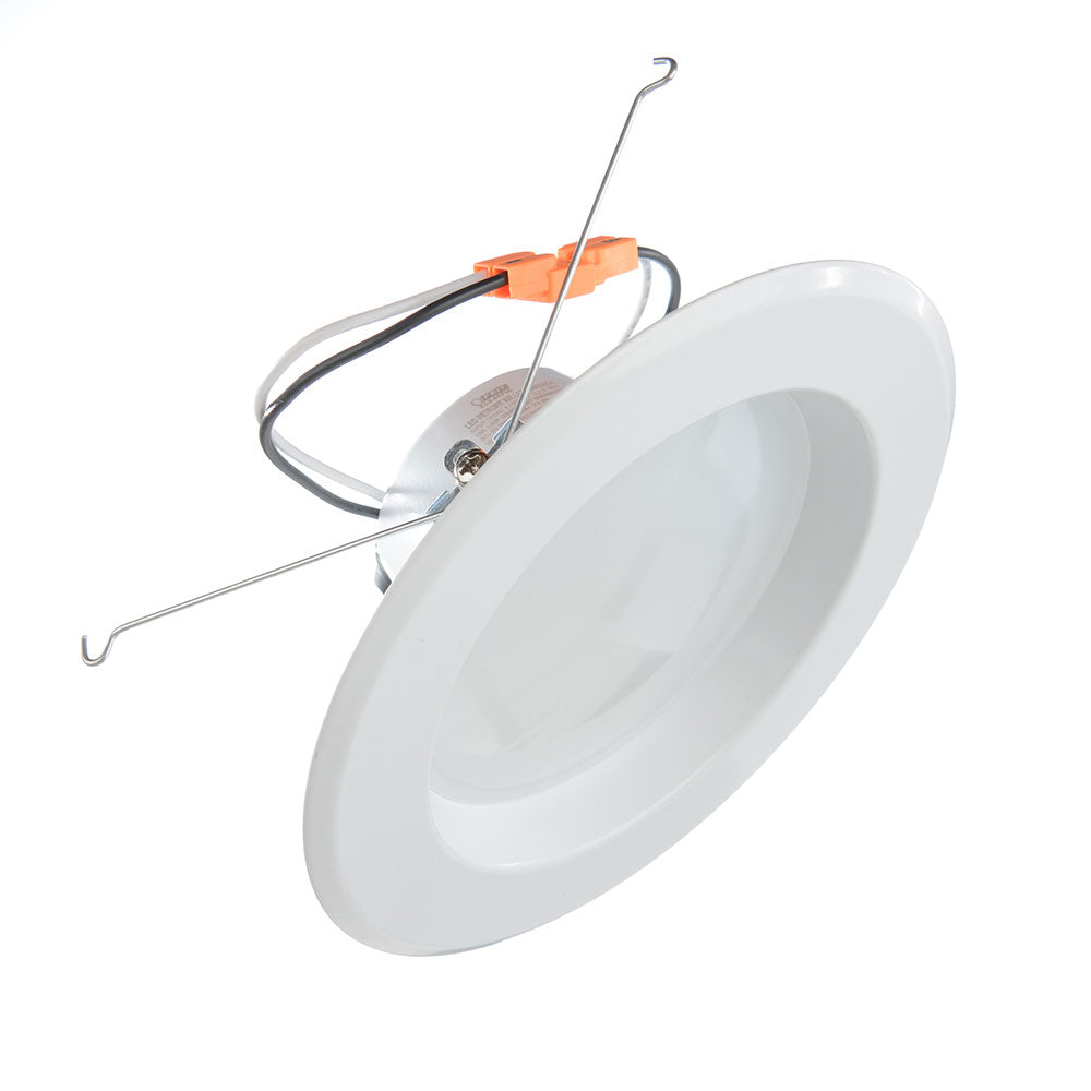 Feit Electric LED 5 Inch & 6 Inch Retrofit Recessed Kit - 3000K 75W Equivalent Fixture (LED56/930CA)