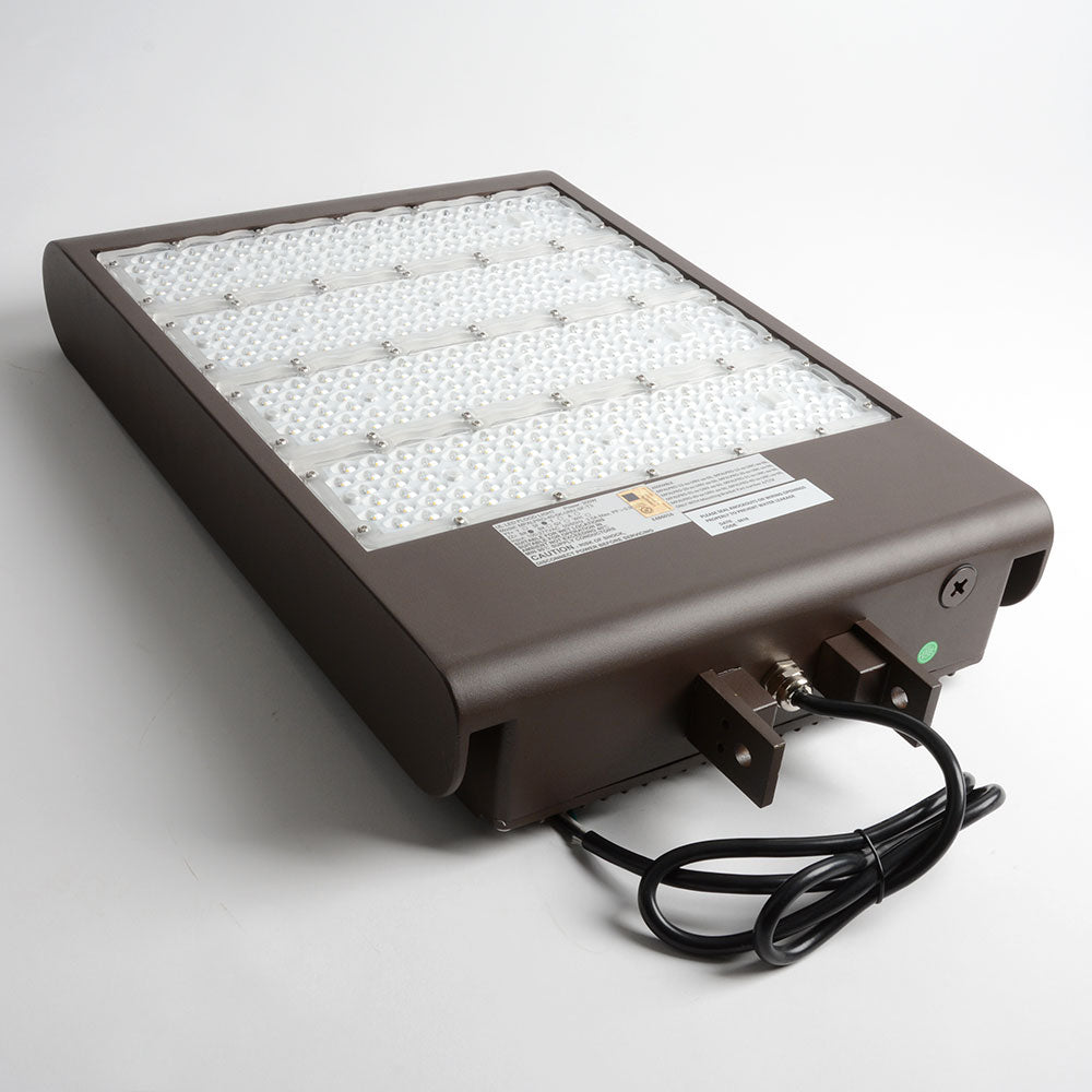Best Lighting Products 291 Watt LED Floodlight 5000K 120V-277V 80 CRI 40522 Lumen Bronze Fixture (MPALPRO-40-5K-UNV-SF-T3)