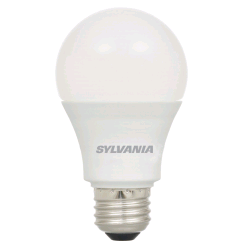 Sylvania 14 Watt A19 LED 2700K 120V 1500 Lumen 80 CRI Medium (E26) Base Frosted Bulb (LED14A19F82710YVRP)