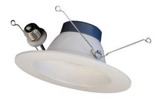 Barron Lighting Group 5 Inch/6 Inch LED Trim 3000K CCT Round Baffle White Finish (BRK-LED56-BW-3K-ECO)