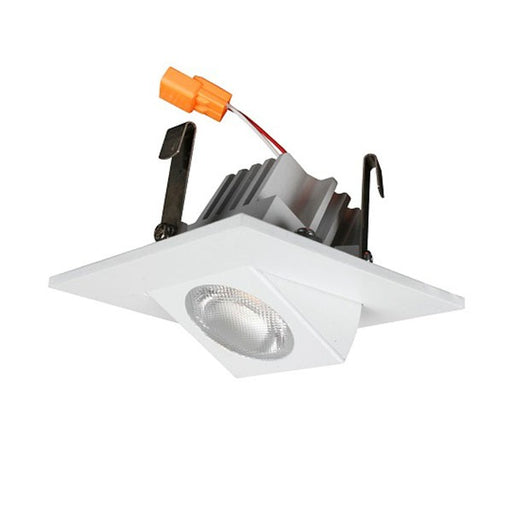 "Best Lighting Products 2"" LED White Adjustable Square Gimbal Downlight Fixture (BLED-2T-GRW-SQ-3K)"